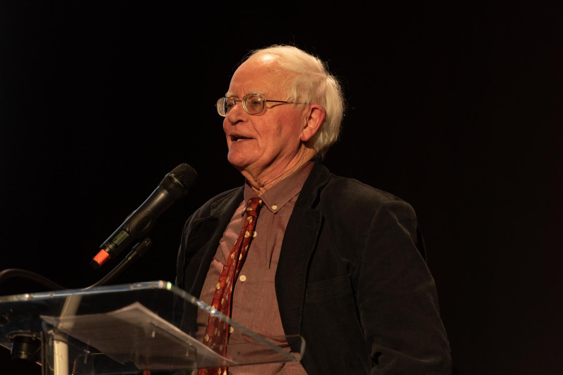 Julian Rushton at the Berlioz 150 Anniversary event